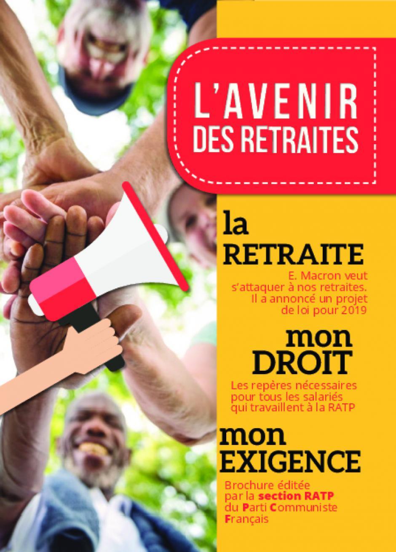 Livret : L'AVENIR DES RETRAITES !