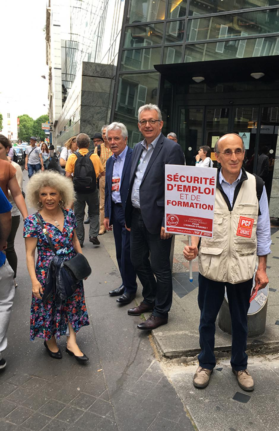 Les communistes RATP toujours mobilisés contre la loi